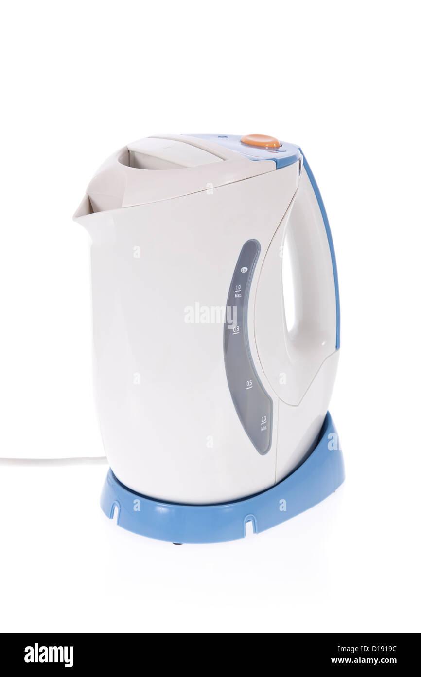 Moderne Wasserkocher moderne wasserkocher isoliert auf weißem hintergrund stockfoto bild
