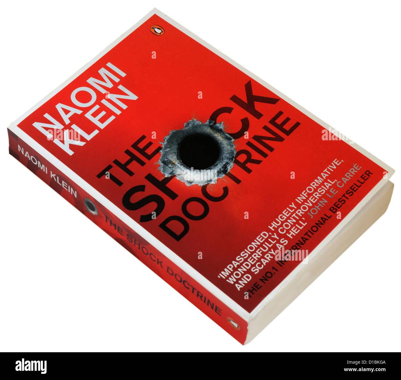 Schock Lehre von Naomi Klein Stockbild