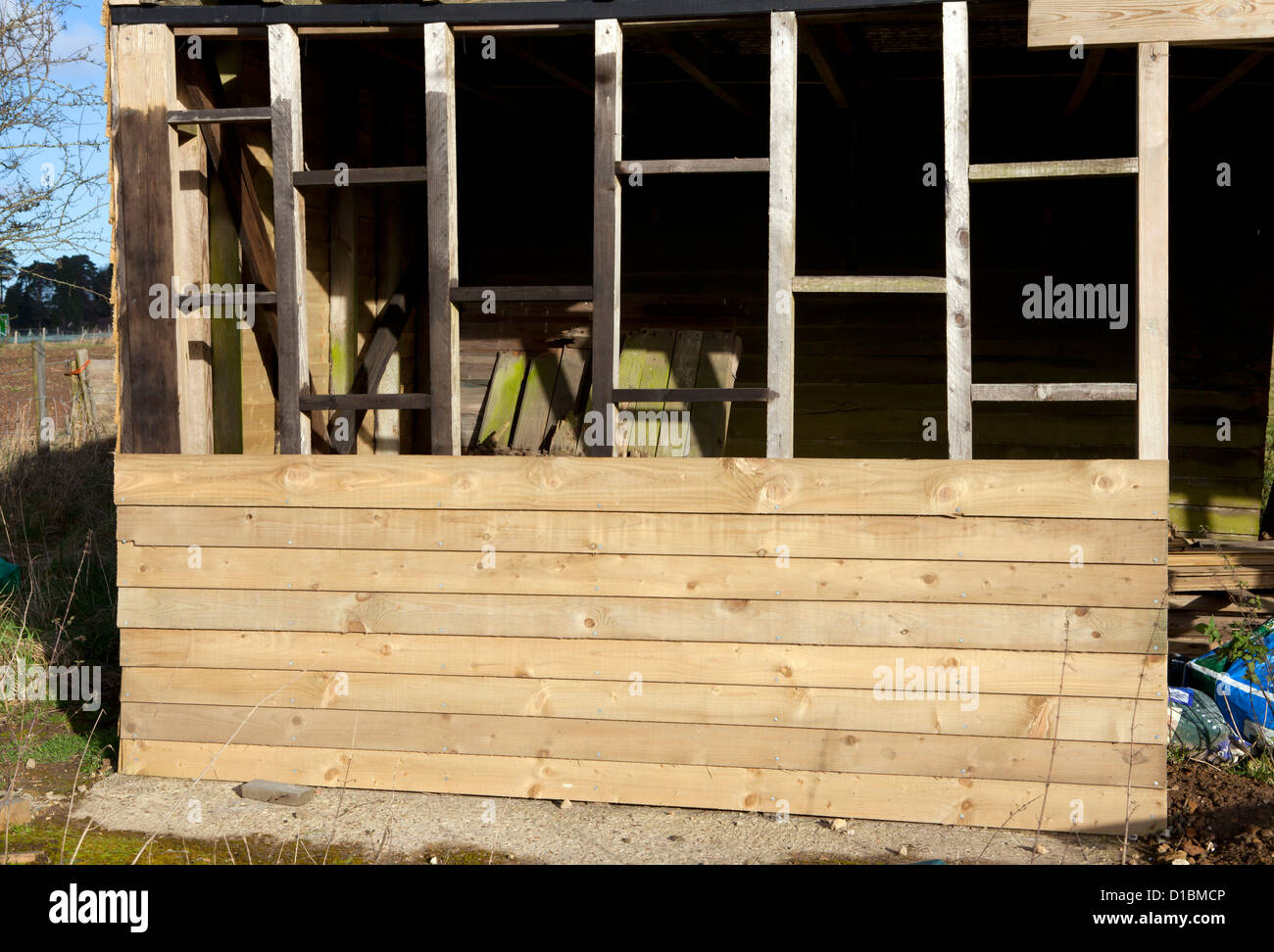 Diy Shed Stockfotos & Diy Shed Bilder - Alamy