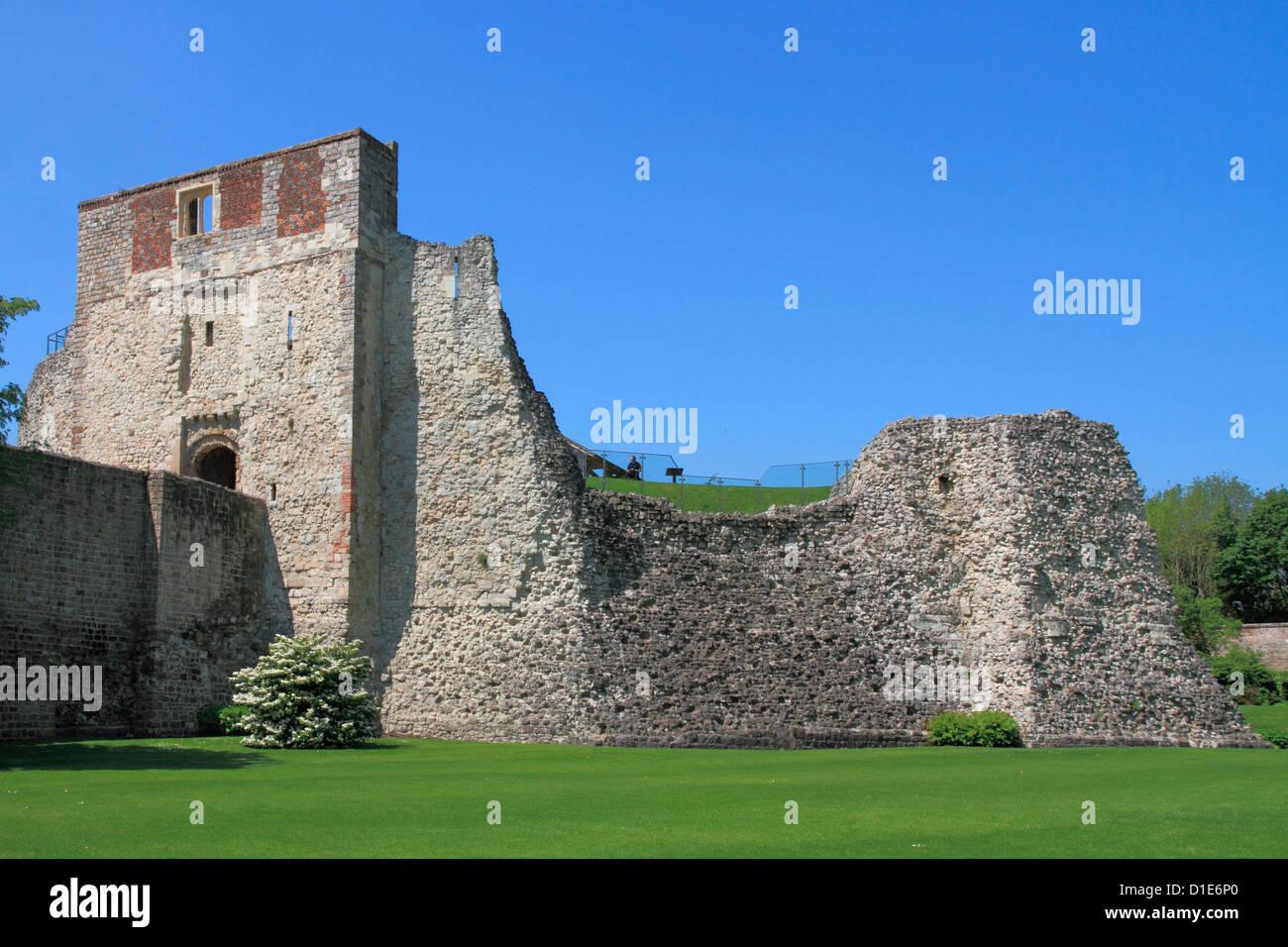 Castle, Farnham, Surrey, England, Vereinigtes Königreich, Europa Stockbild