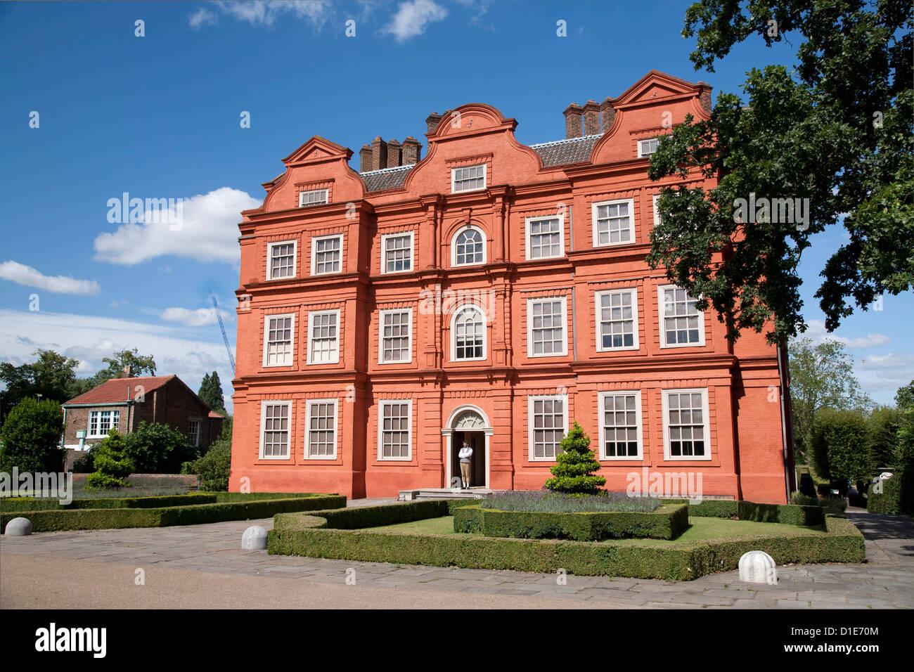 Royal Botanic Gardens, Kew Palace UNESCO World Heritage Site, Kew, in der Nähe von Richmond, Surrey, England, Stockbild