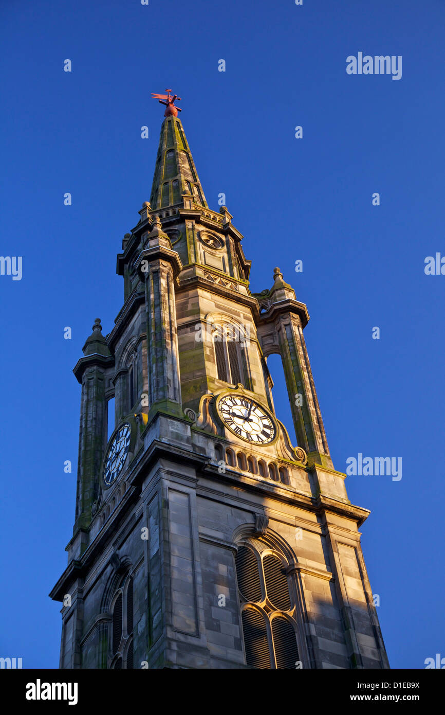 Tron Kirk Turmspitze, Royal Mile, Altstadt, Edinburgh, Schottland, Vereinigtes Königreich, Europa Stockbild