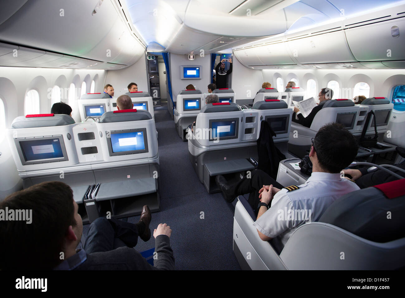 interieur boeing 787 dreamliner
