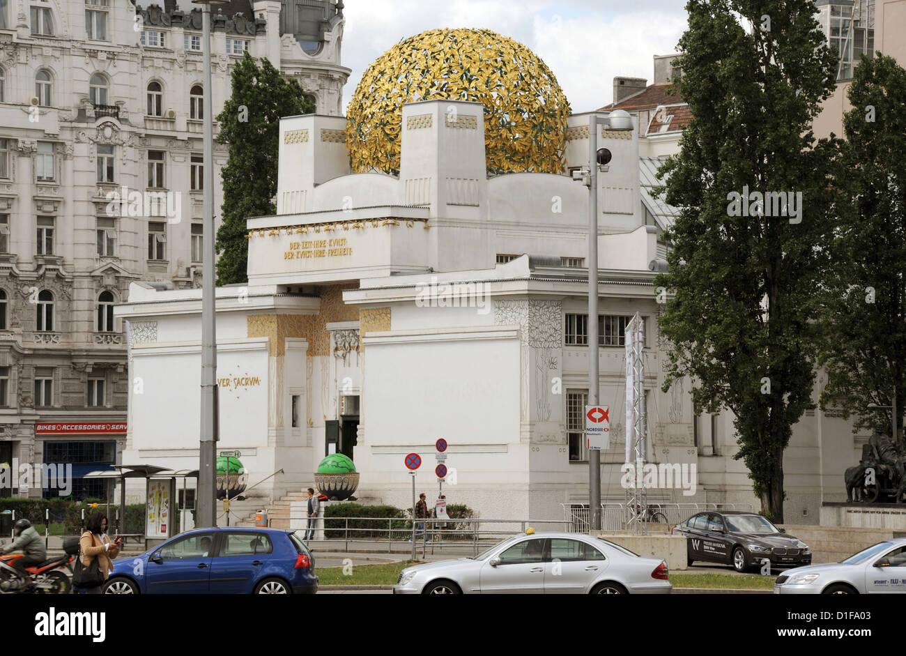Wiener Sezession Stockfotos & Wiener Sezession Bilder