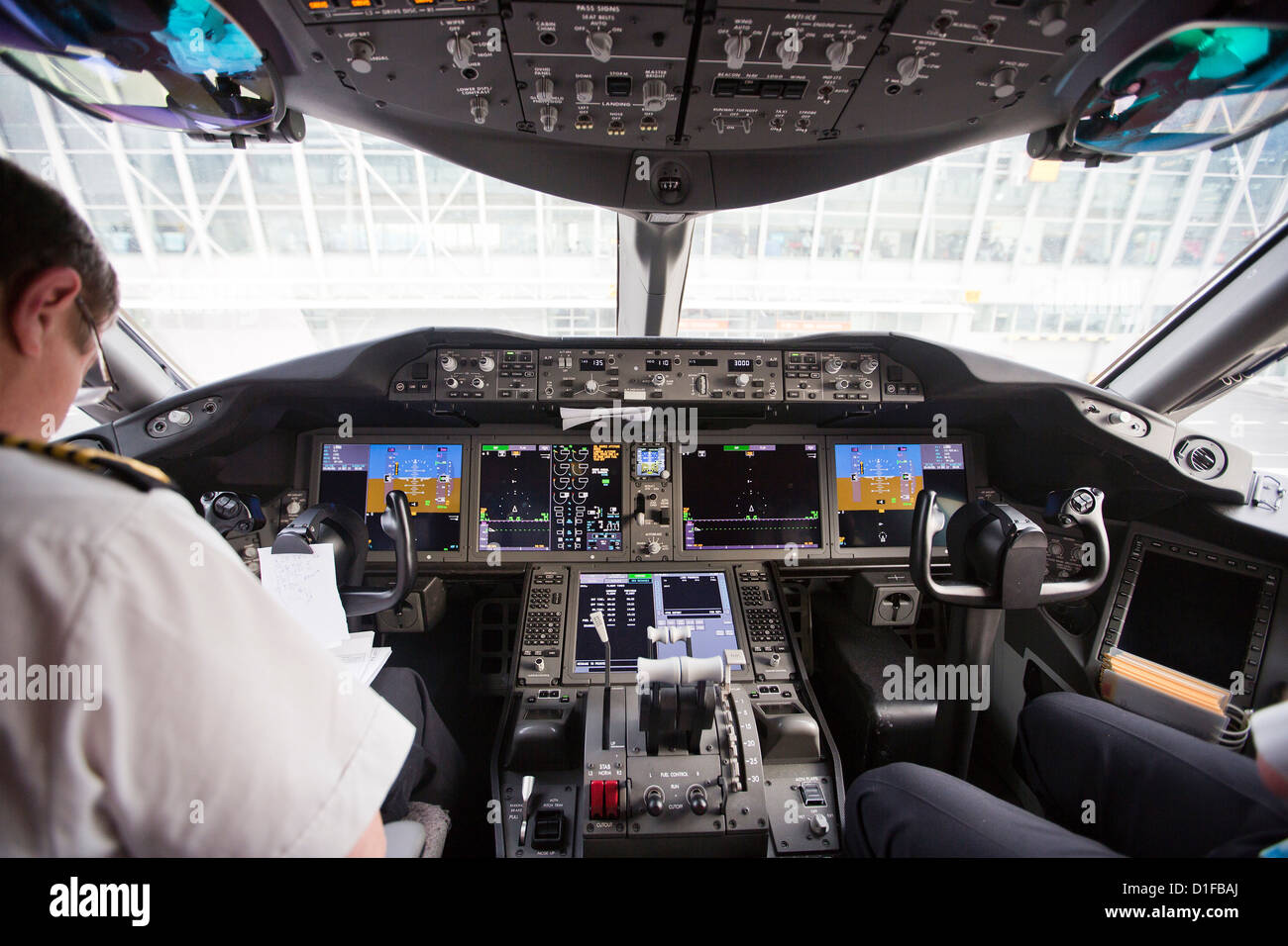 Interieur, Boeing 787 Dreamliner Stockfoto, Bild: 52583962 - Alamy