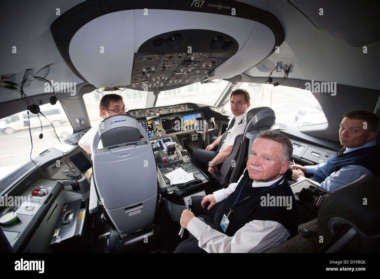 Interieur, Boeing 787 Dreamliner Stockfoto, Bild: 52584118 - Alamy