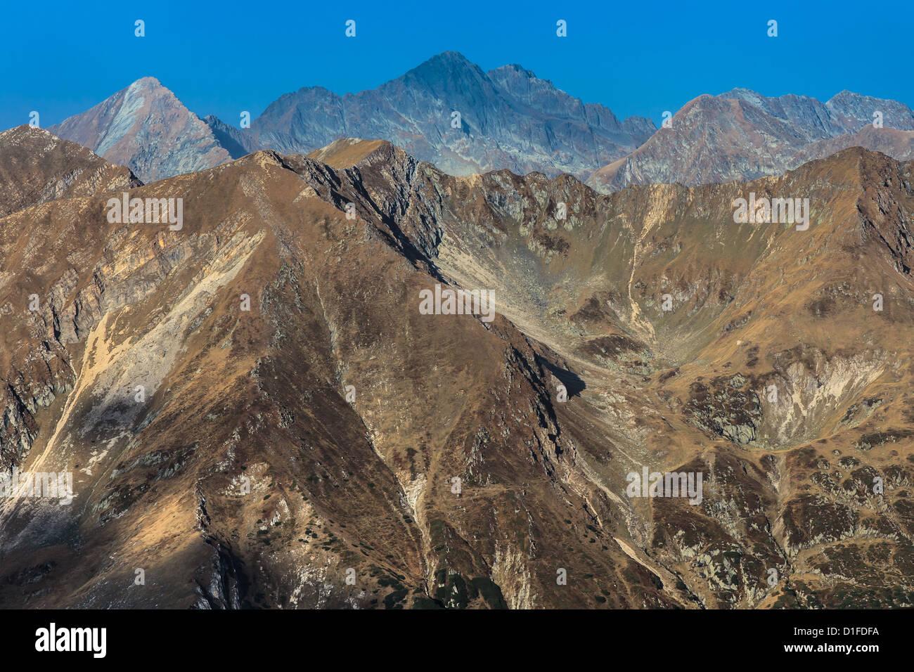 Berglandschaft Stockbild