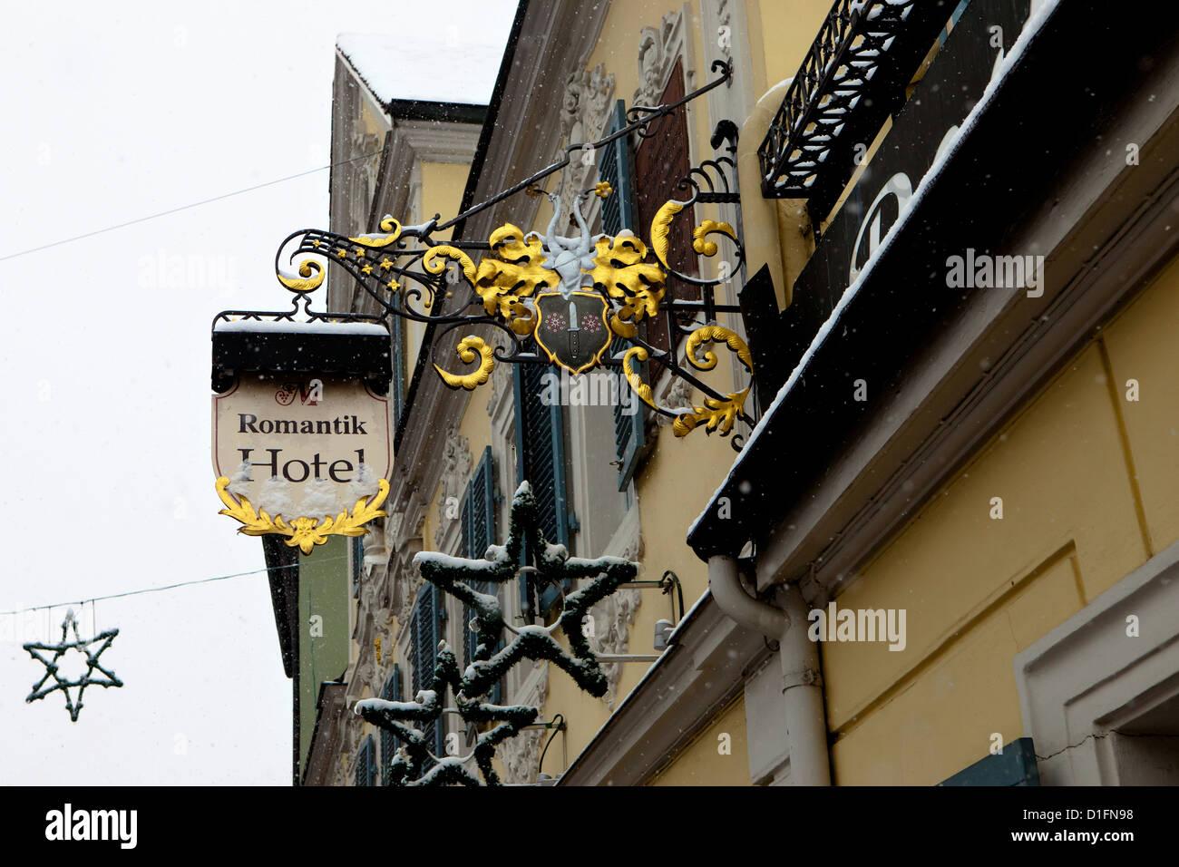 Romantik Hotel, Bamberg, Deutschland Stockbild