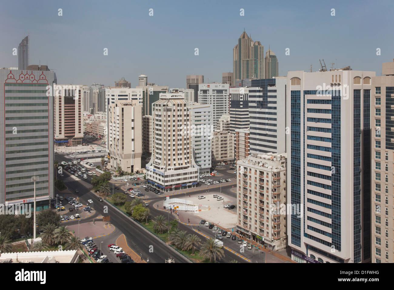 Abu Dhabi, Vereinigte Arabische Emirate, Naher Osten Stockbild