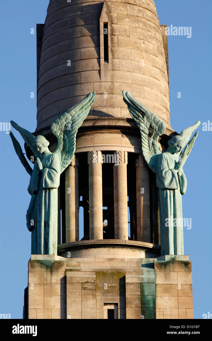 Heiliges Herz Kirchturm, Gentilly, Val-de-Marne, Frankreich, Europa Stockbild