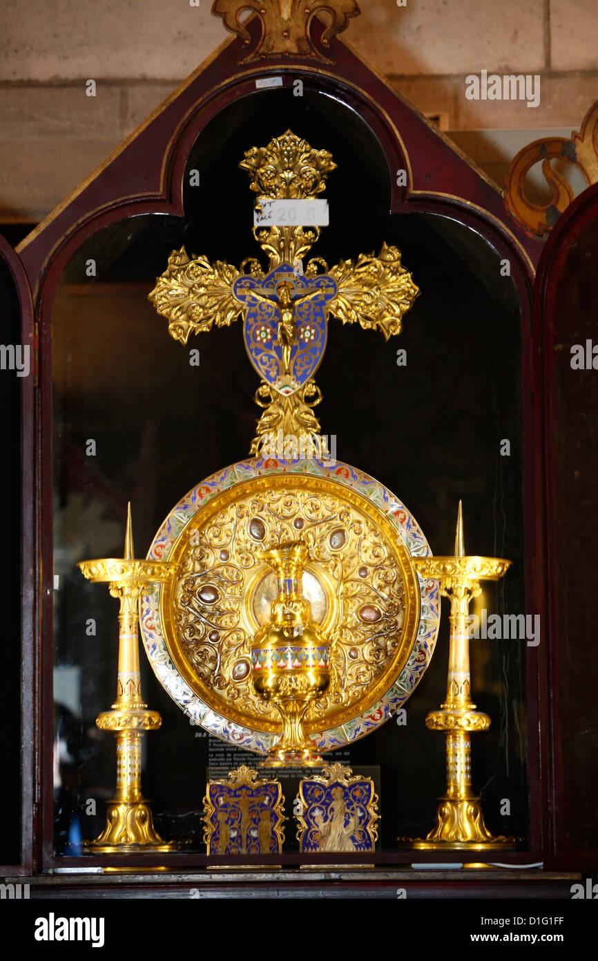 Kathedrale Notre-Dame de Paris Treasure Museum, Paris, Frankreich, Europa Stockfoto