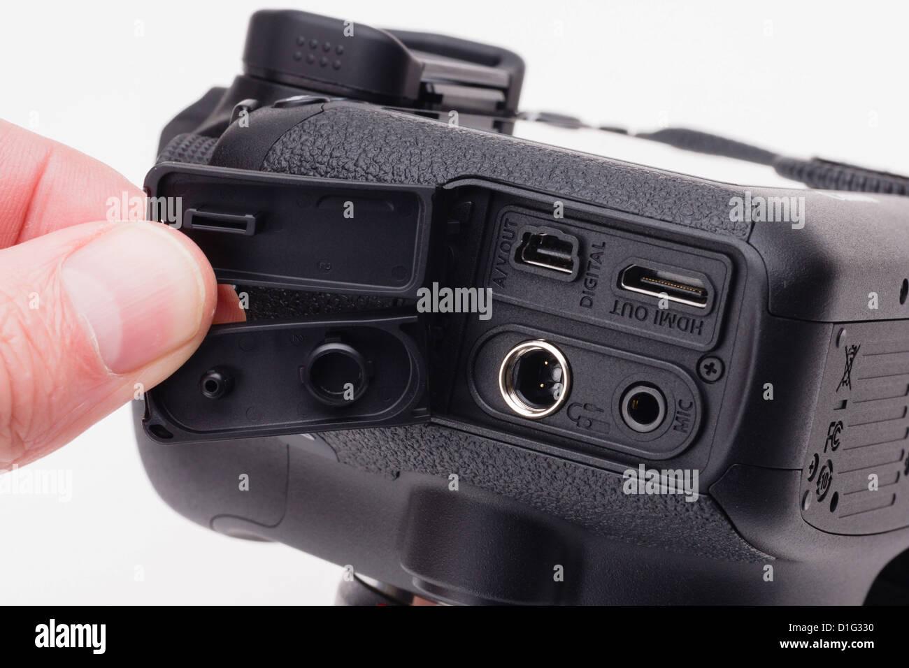 Canon EOS 6D full Frame DSLR, günstigen Preis. Schnittstellen für ...