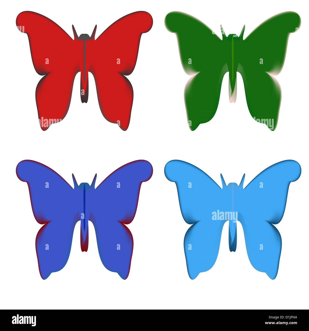 Beste Frühling Schmetterlinge Färbung Seiten Ideen - Entry Level ...