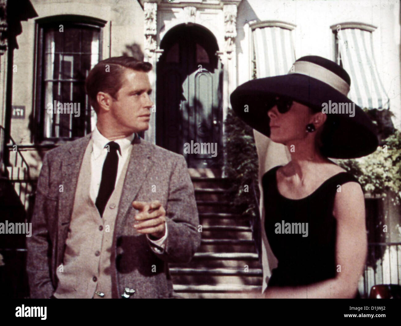 fruehstueck bei tiffany breakfast at tiffany 39 s george peppard audrey hepburn lokalen. Black Bedroom Furniture Sets. Home Design Ideas