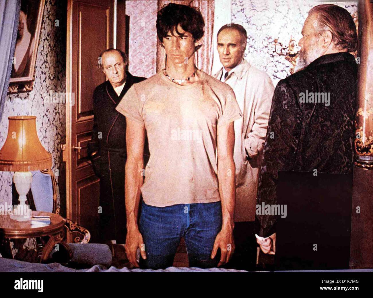 Der Zehnte Tag Jahrzehnt Prodigieuse, La?, Anthony Perkins, Michel Piccoli, Orson Welles Als Ein Geheimnisvoller Stockbild