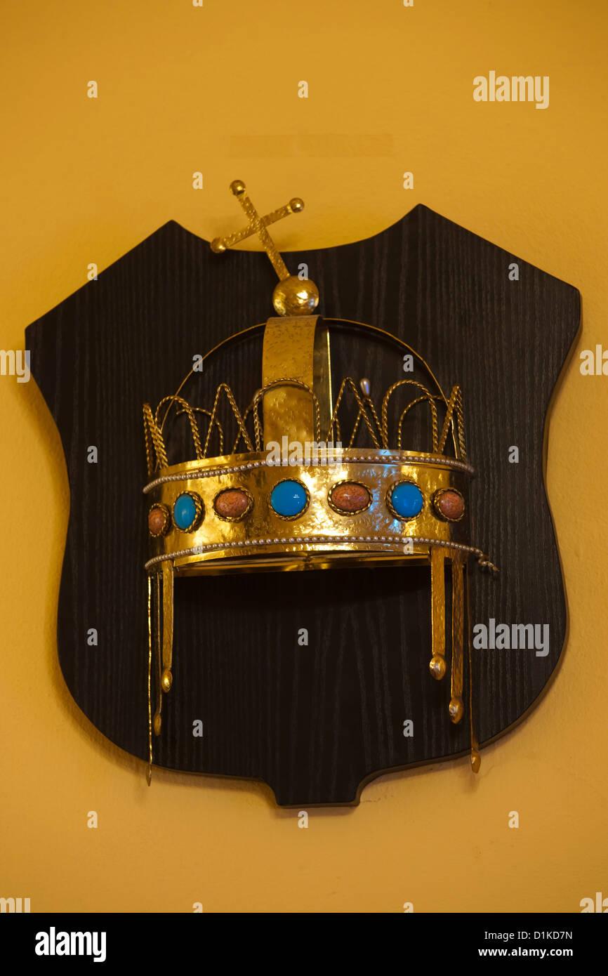 Österreich, Wien 1, schulerstrasse 10 Hotel König von Ungarn, ungarische die Krone im Restaurant Stockbild