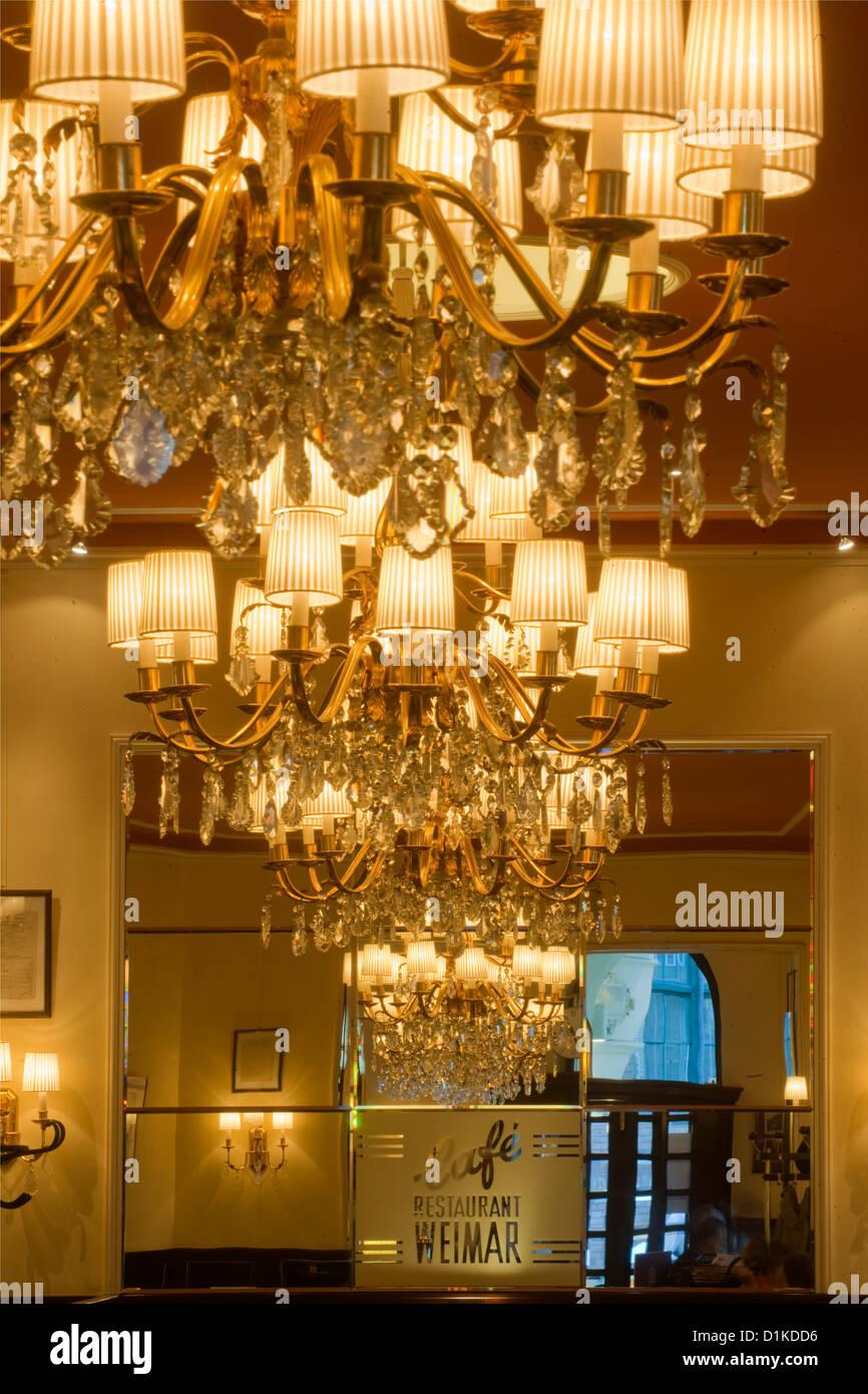 Österrreich, Wien 9, Währinger Straße 68, Cafe Weimar Stockfoto