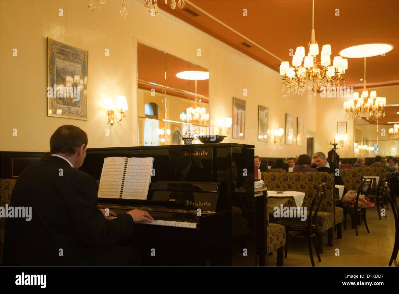 Österrreich, Wien 9, Währinger Straße 68, Café Weimar Stockbild