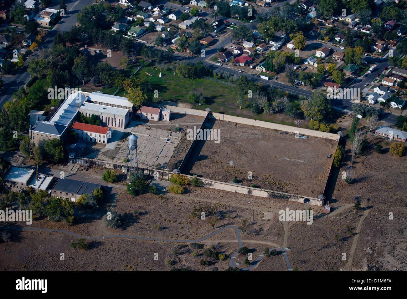 Luftbild Norden Facility, Wyoming State Penitentiary, Rawlins, Wyoming Stockbild