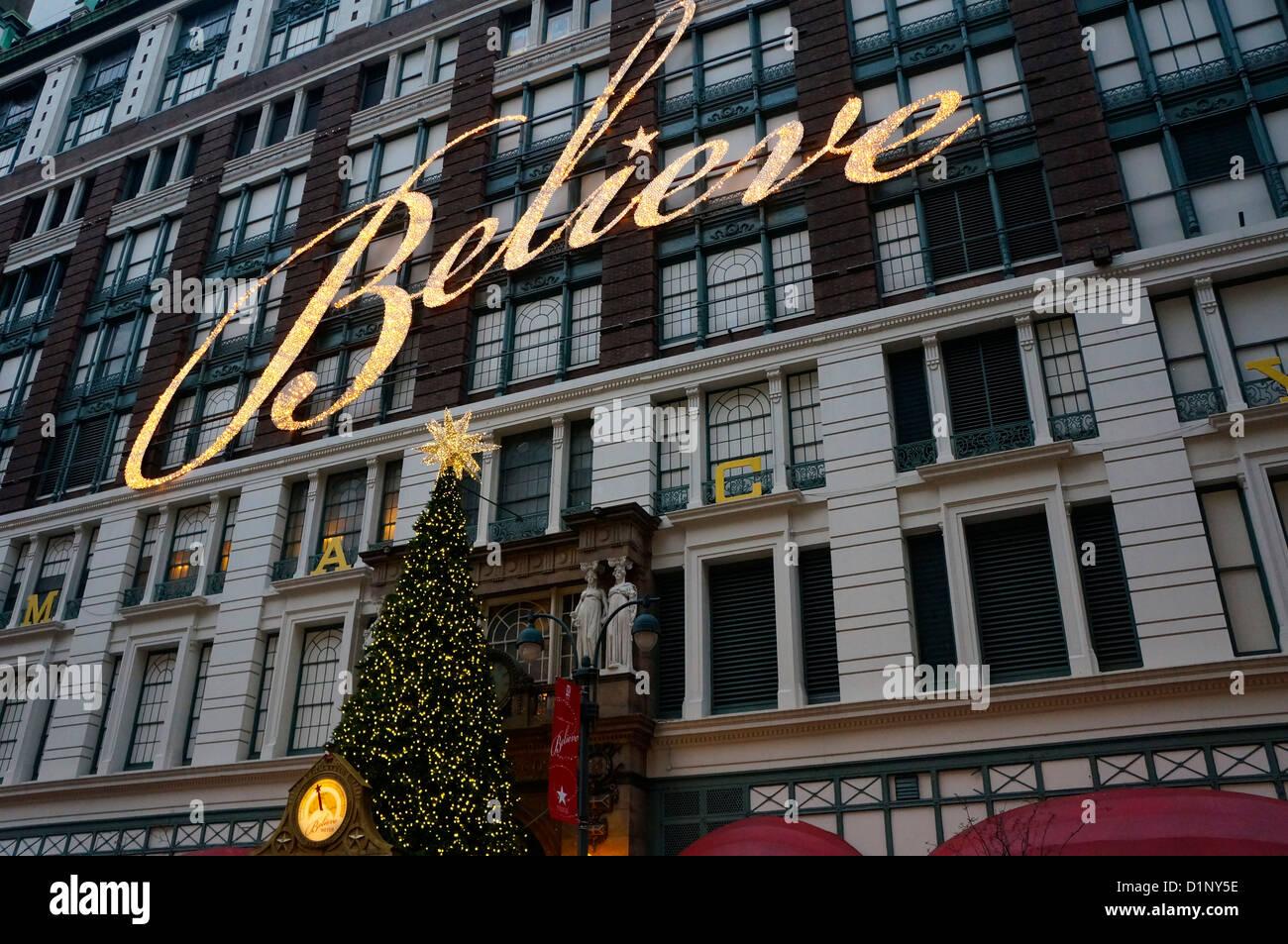 Weihnachten New York City Stockfotos & Weihnachten New York City ...
