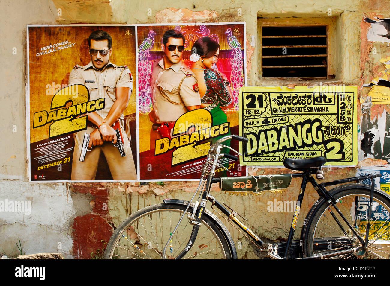 Bollywood-Film-poster Stockbild