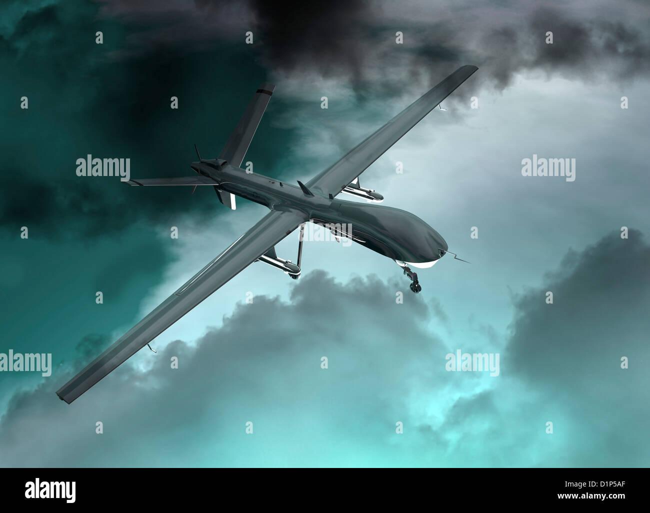 Drohne Englisch