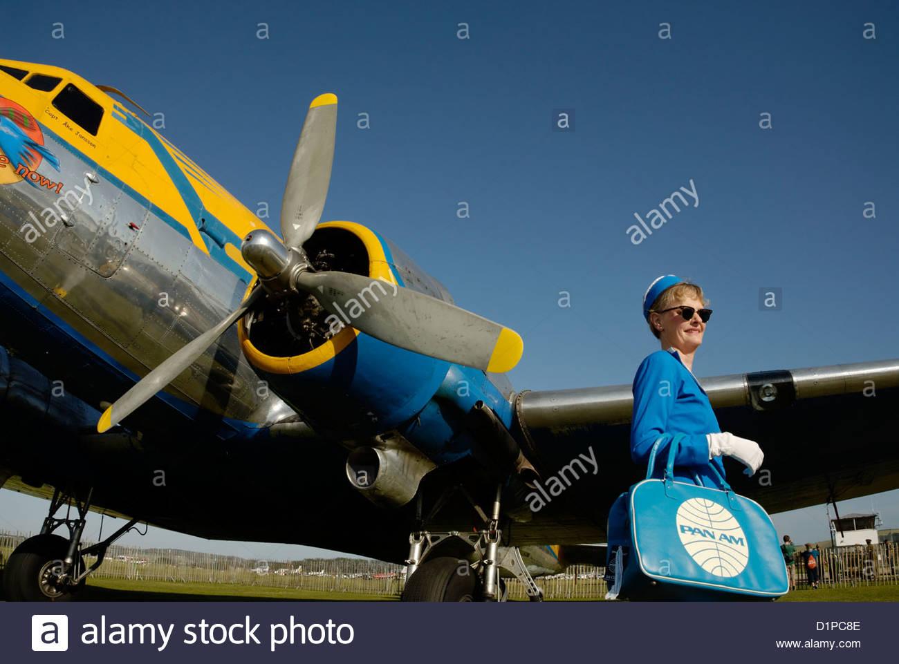 air stewardess stockfotos air stewardess bilder alamy. Black Bedroom Furniture Sets. Home Design Ideas