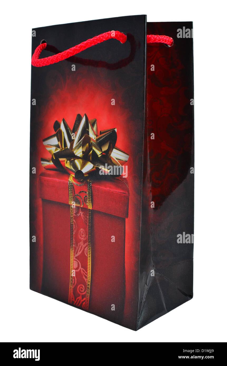 Geschenk Paket Mit Einem Bild Ein Geschenk Und Bogen Stockfoto Bild