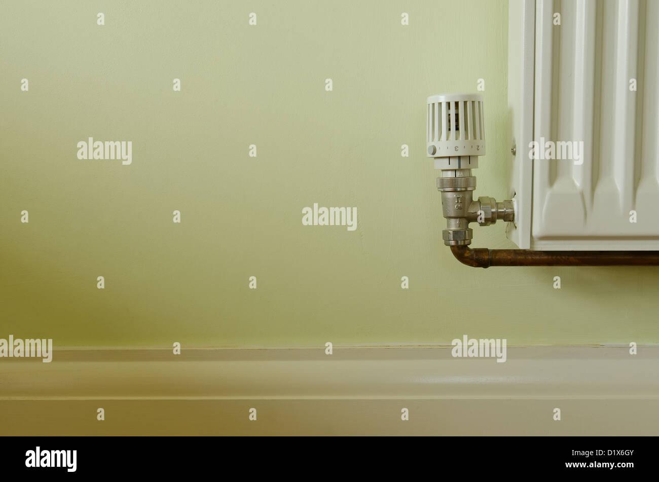 Moderne Heizkörper Thermostat Regelventil auf ...