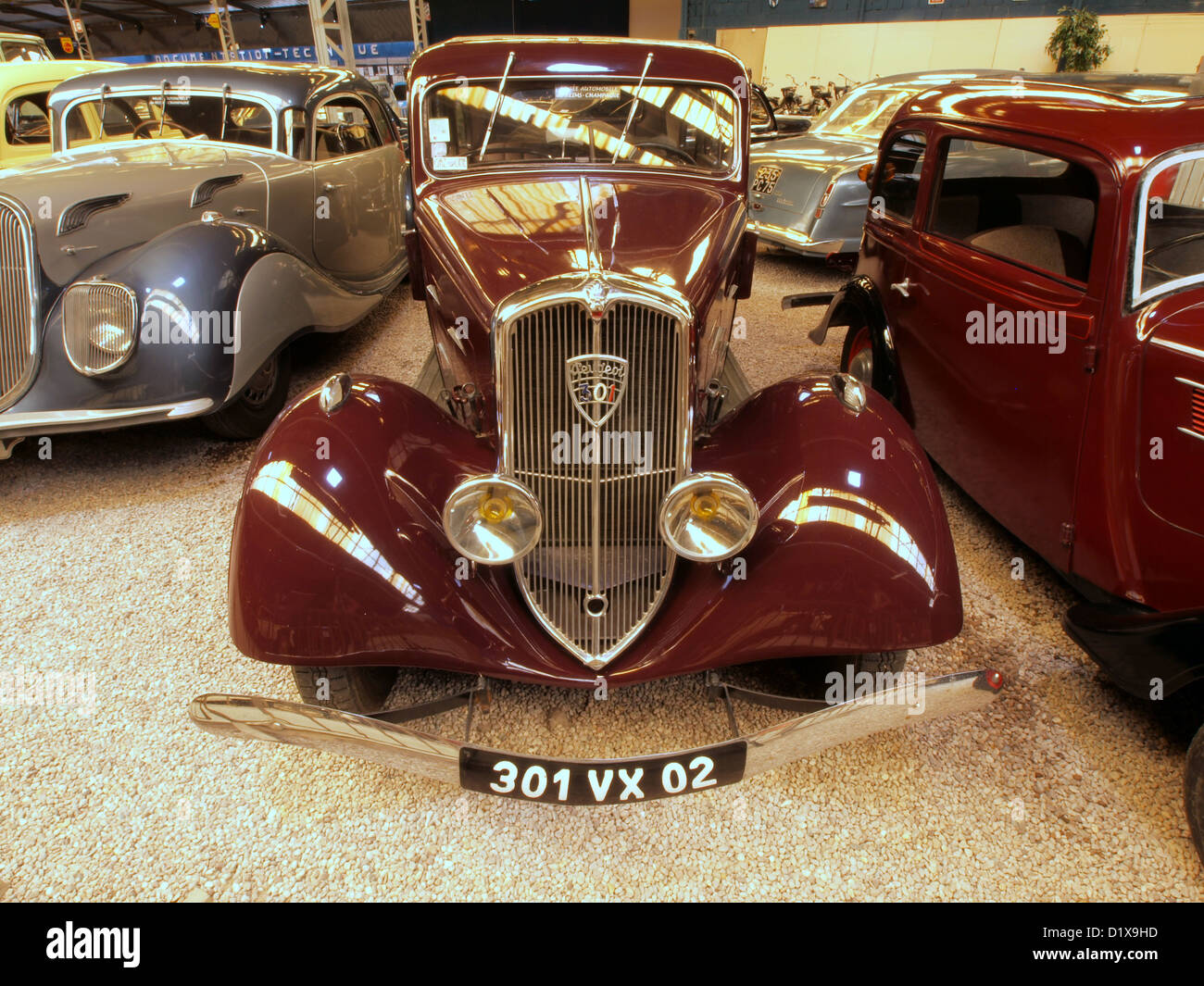 peugeot car museum stockfotos peugeot car museum bilder alamy. Black Bedroom Furniture Sets. Home Design Ideas