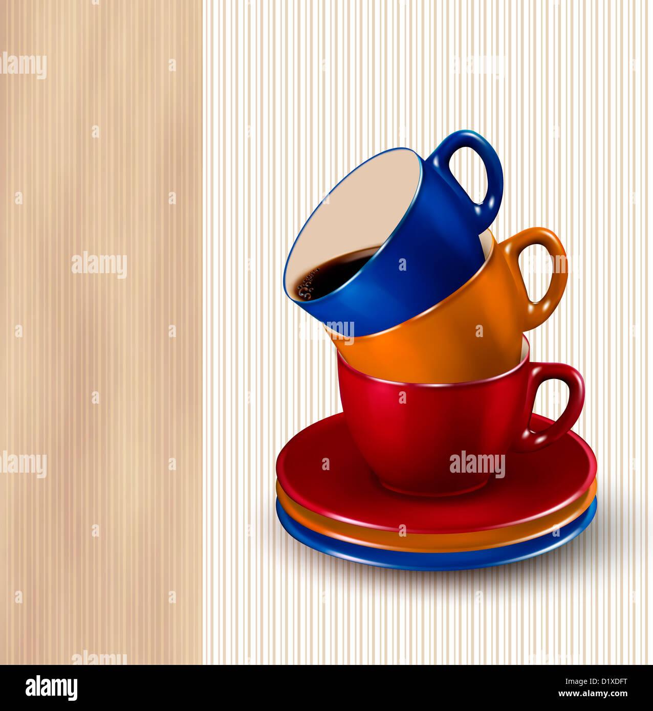 Großartig Papier Teetasse Vorlage Fotos - Beispiel Business ...