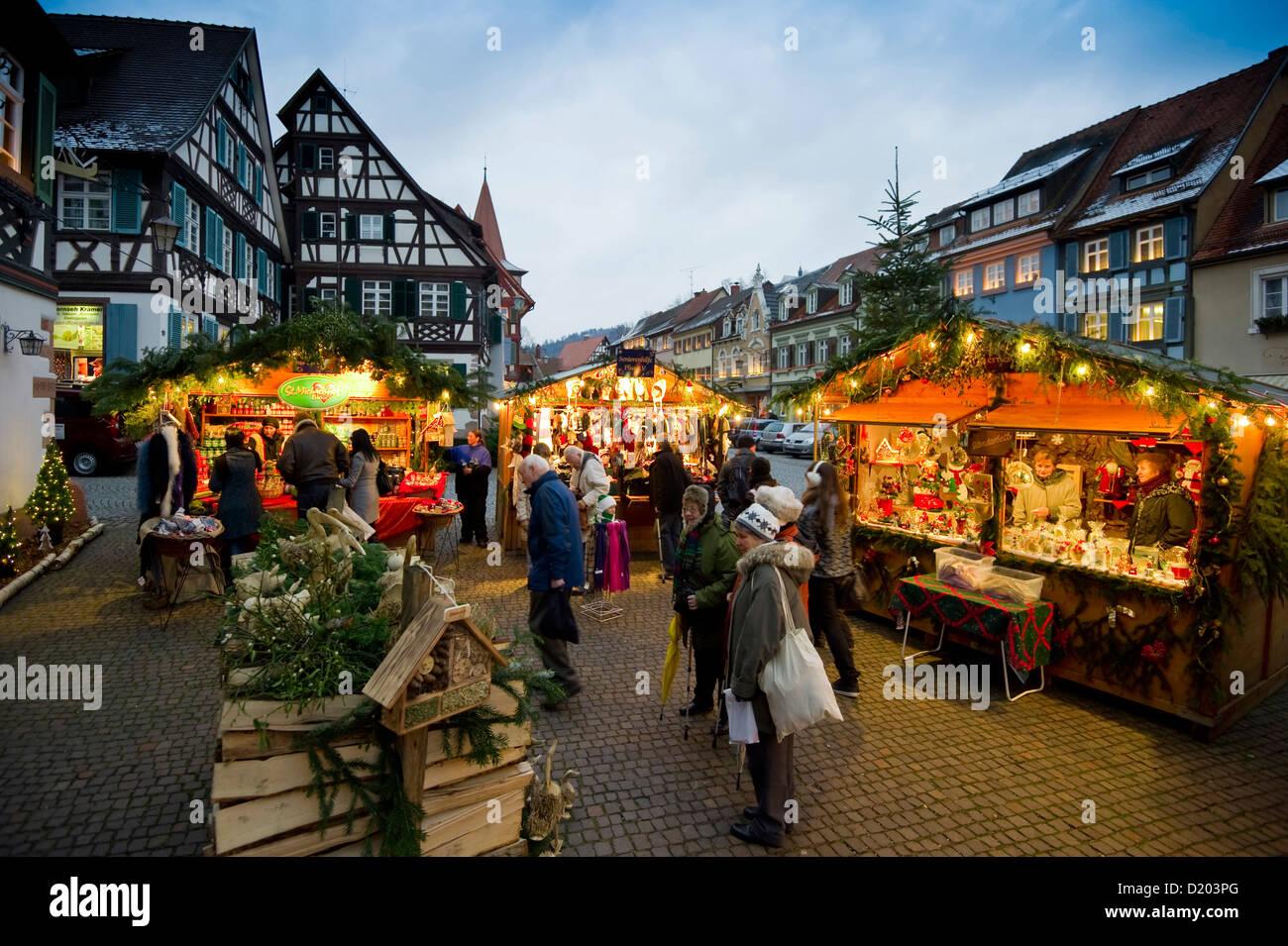 Weihnachten Markt Gengenbach Schwarzwald Baden
