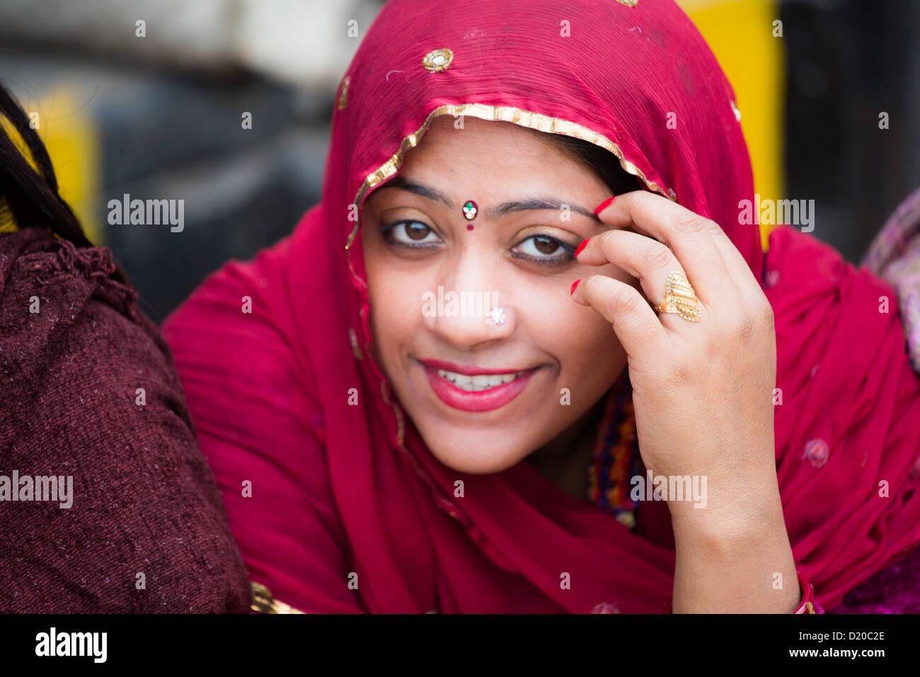 Heiße hinduistische Frauen