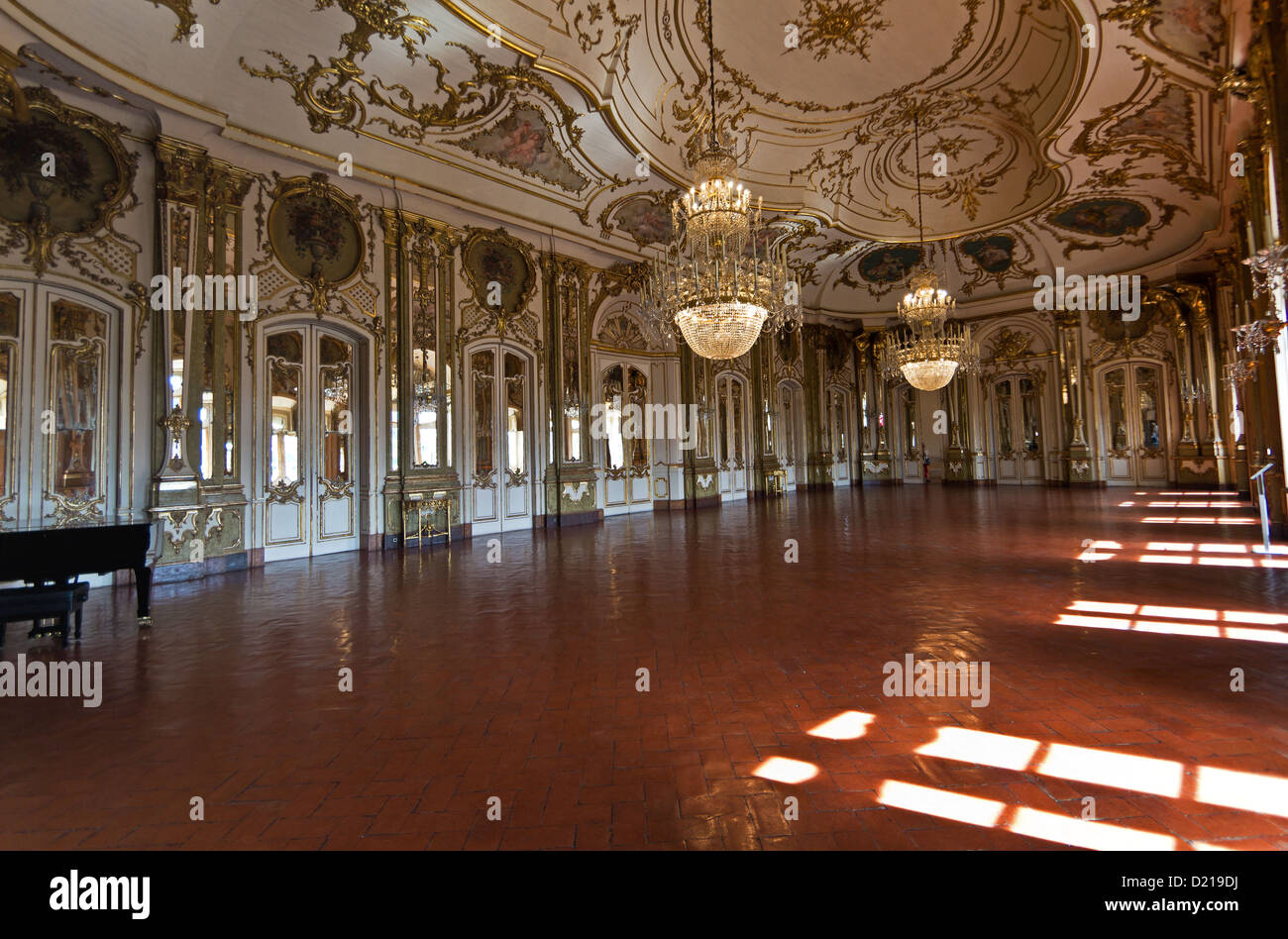 Hi, Queluz National Palace (Palacio Nacional de Queluz). Queluz, Portugal Stockfoto