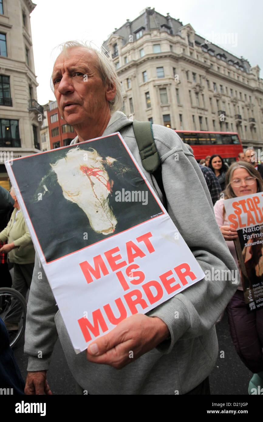 März für Nutztiere, London Stockbild