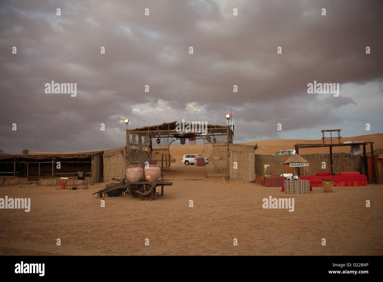 im Freien Schuss der Wüste Stockbild