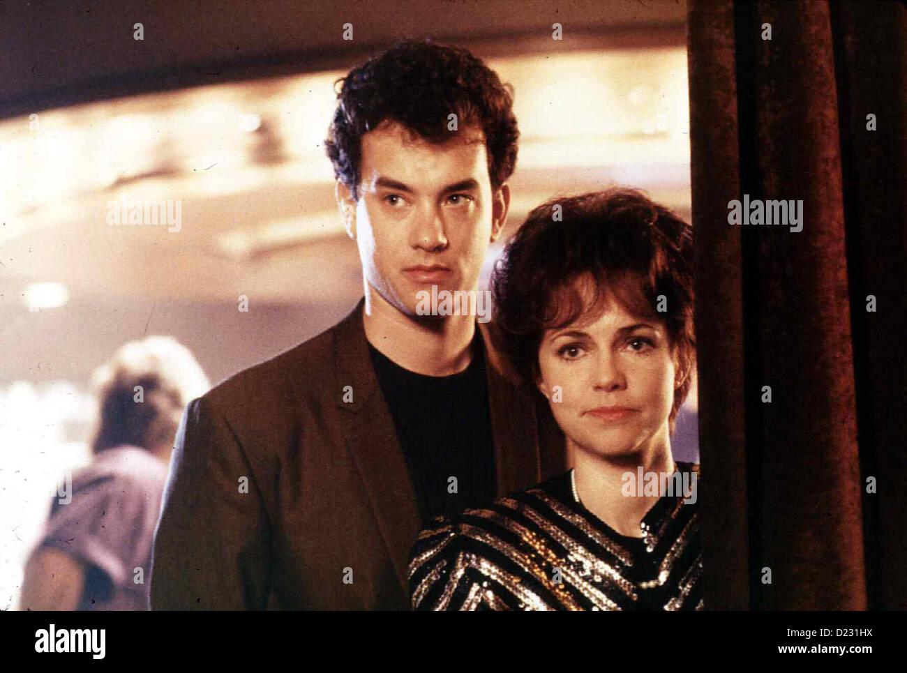 Der Knalleffekt Punchline Tom Hanks, Sally Field Nervös Wartet Lilah (Sally Field) Mit Steven (Tom Hanks) Auf Ihren Stockfoto