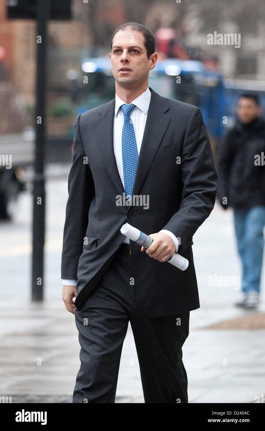Westminster Magistrates, London, UK. 8. Januar 8. Auslieferung