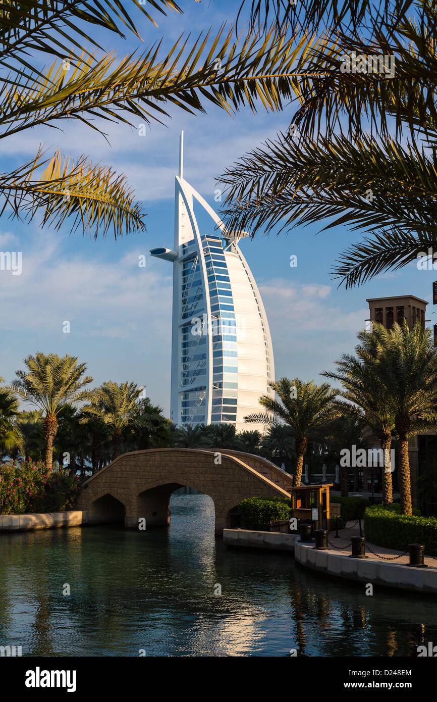 Luxus 7 Sterne Hotel Burj Al Arab In Dubai Stockfoto Bild 52954908