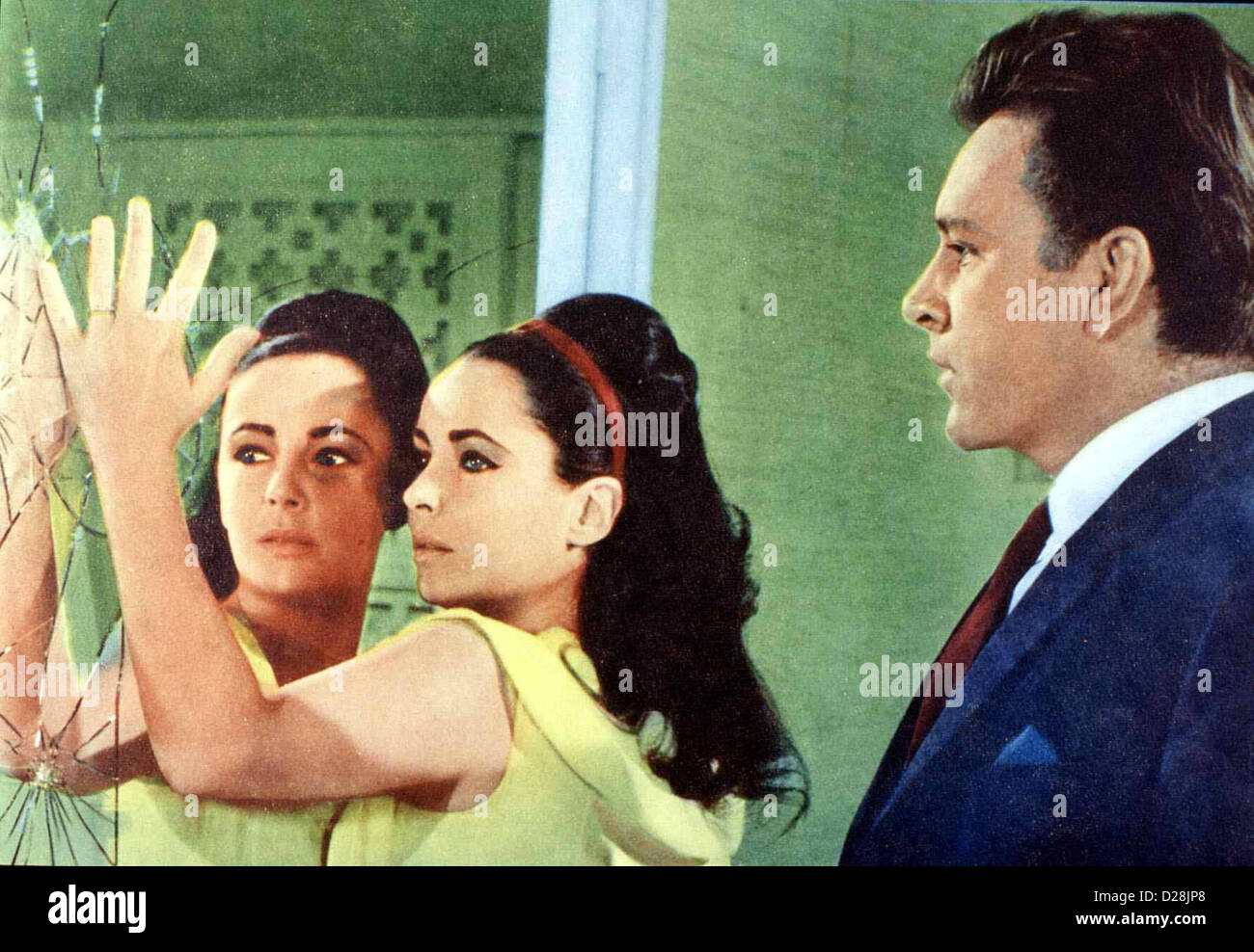 Hotel International VIP, Frances (Elizabeth Taylor), Paul (Richard Burton) *** lokalen Caption *** 1963-- Stockbild