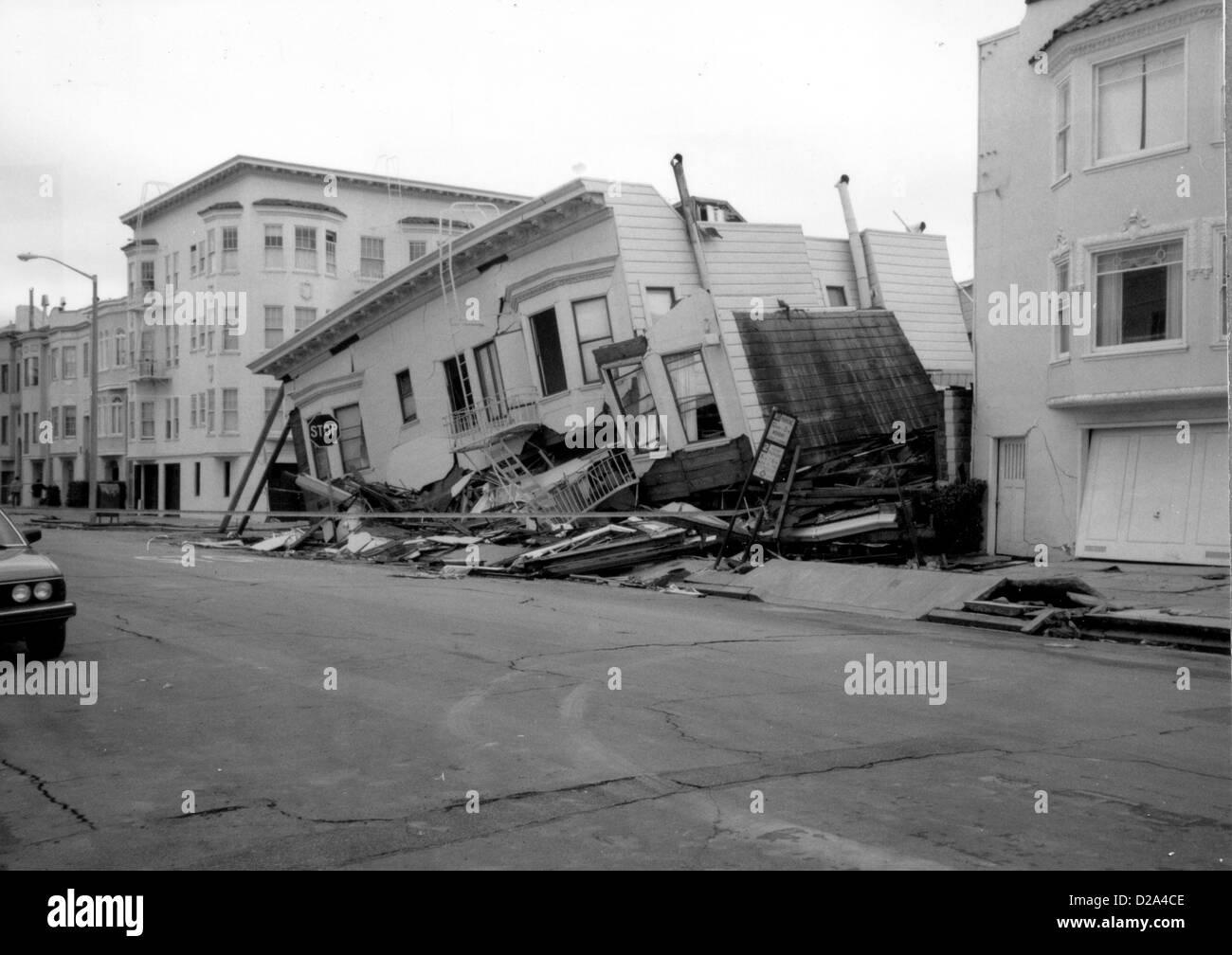 Loma Prieta California Erdbeben 17 Oktober 1989 Strukturen
