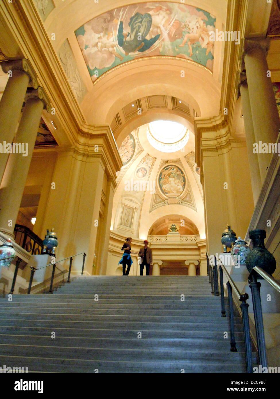 Museum Of Fine Arts, Boston, Massachusetts Stockbild