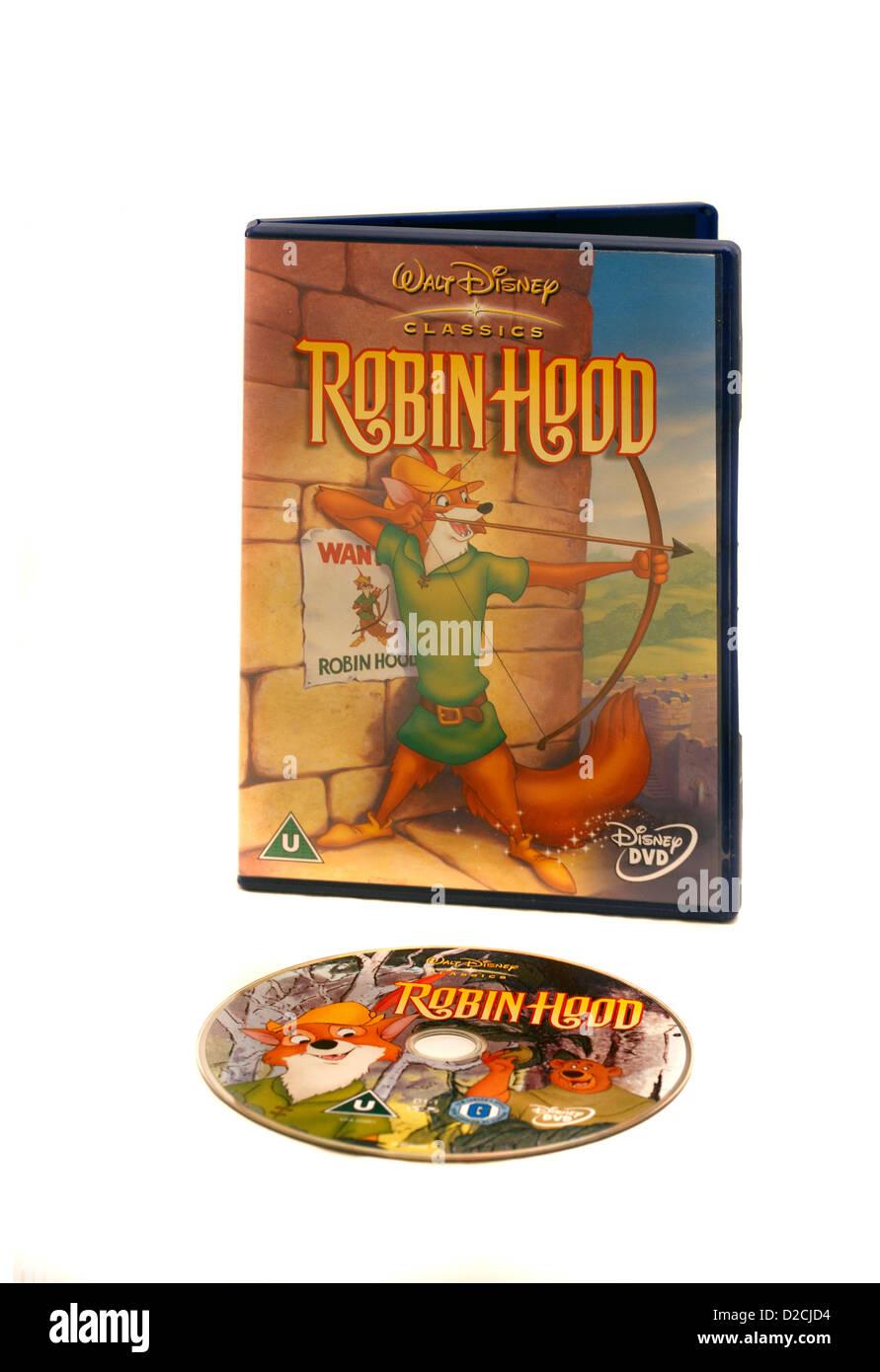Walt Disney Klassiker Classic Robin Hood Zeichentrickfilm Dvd