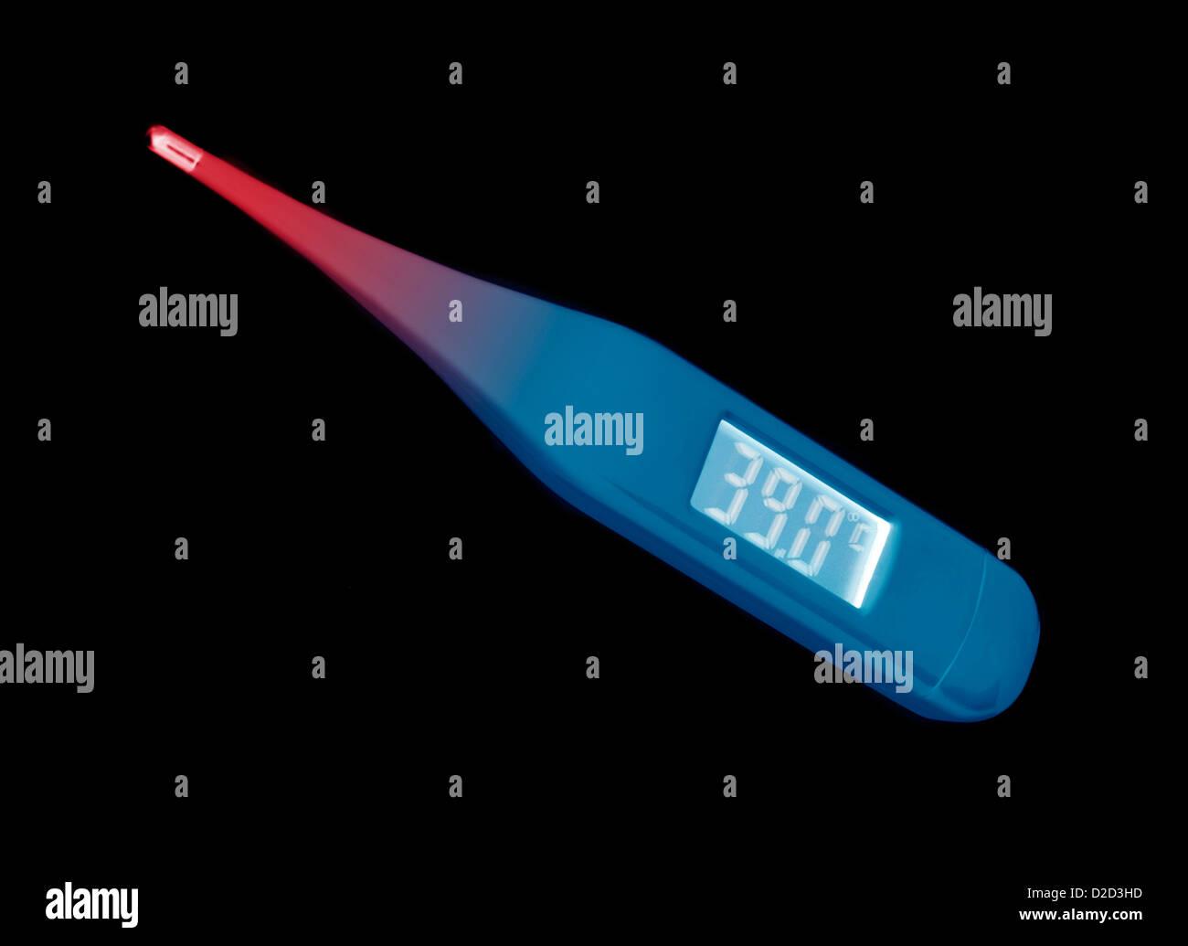 Medizinische thermometer Stockbild
