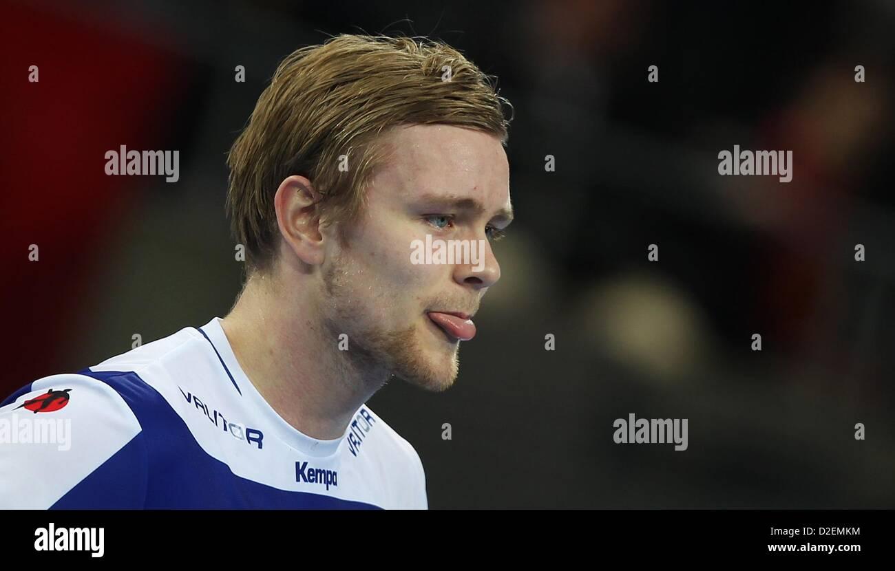 Aron Palmarsson Islands Reagiert Nach Der Herren Handball Wm 16