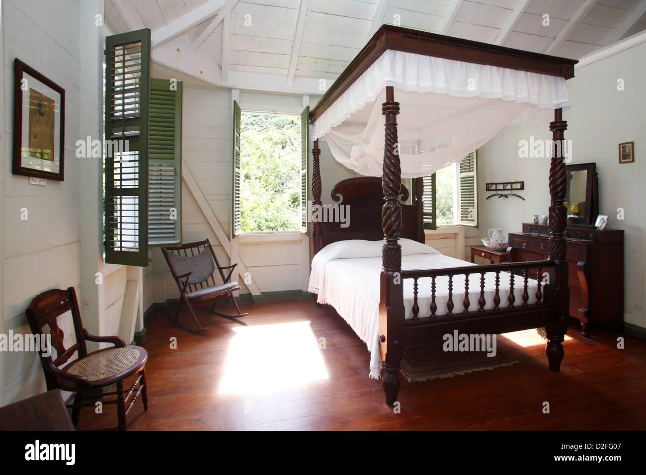 Schlafzimmer Lawaetz Familienmuseum St Croix Amerikanische 25