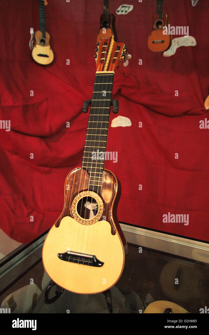 Timple: Streichinstrument von den Kanarischen Inseln Stockbild
