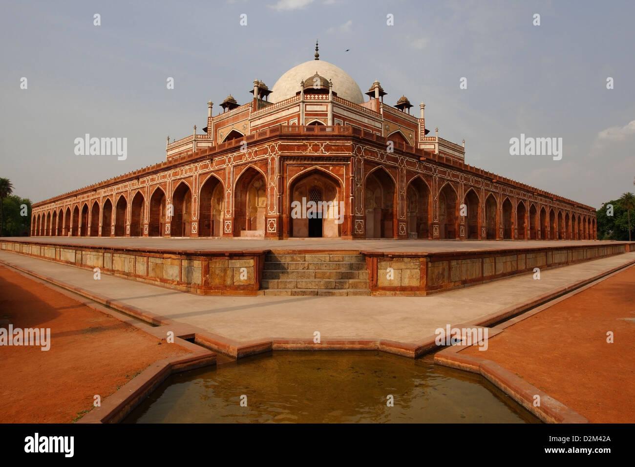 Humayun Grab, Delhi, Indien, Indien Stockbild