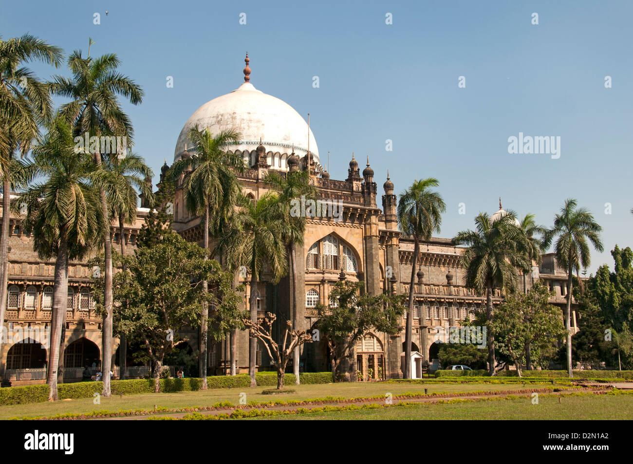 Der Chhatrapati Shivaji Maharaj Vastu Sangrahalaya früher Prince Of Wales Museum der westlichen Indien Mumbai Stockbild