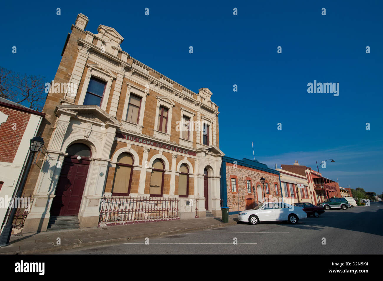 Kolonialarchitektur in Port Adelaide, South Australia, Australien, Pazifik Stockbild